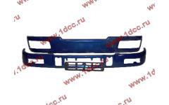 Бампер C синий верхний+нижний (в сборе) фото Саранск